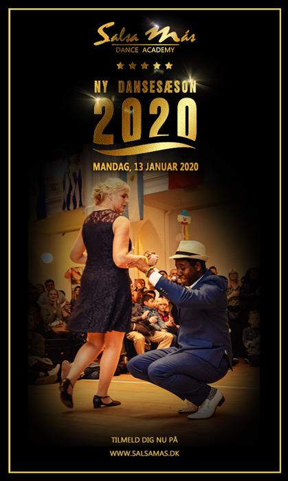 Ny dansesæson 2020 hos Salsa Más Dance Academy